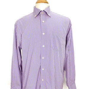 Vineyard Vines Murray Shirt L Plaid Long Sleeves